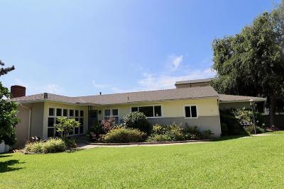 Pasadena Single Family Home For Sale: 2930 Coleridge Circle