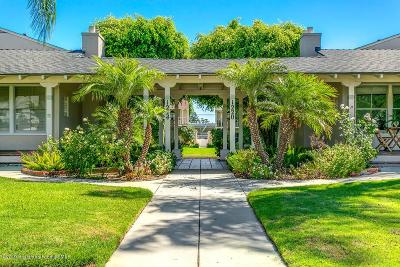 Glendale Condo/Townhouse For Sale: 1220 East Glenoaks Boulevard #7