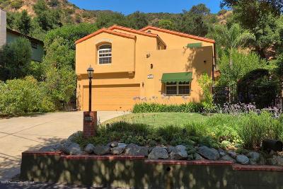 Pasadena Single Family Home For Sale: 1934 Pasadena Glen Road