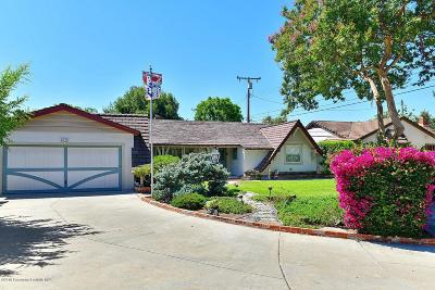 Los Angeles County Single Family Home Active Under Contract: 316 Altern Street