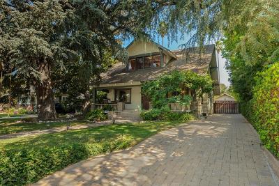 Pasadena Single Family Home For Sale: 965 East Howard Street