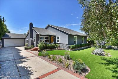 La Crescenta Single Family Home For Sale: 2426 Janet Lee Drive