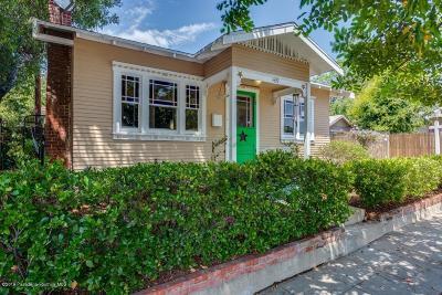 Pasadena Single Family Home For Sale: 1439 East Howard Street