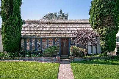San Gabriel Single Family Home Active Under Contract: 1028 Coolidge Drive
