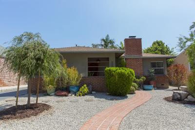 Burbank Single Family Home Active Under Contract: 600 North Griffith Park Drive