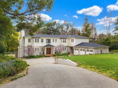 La Canada Flintridge Single Family Home For Sale: 1238 Green Lane