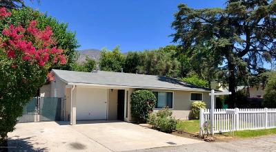 Duarte Single Family Home Active Under Contract: 835 Mount Olive Drive