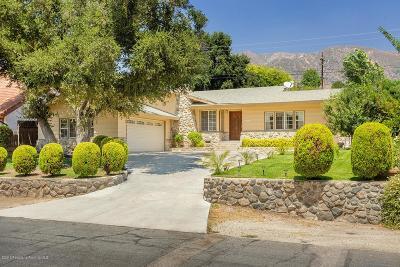 La Crescenta Single Family Home For Sale: 3431 Encinal Avenue
