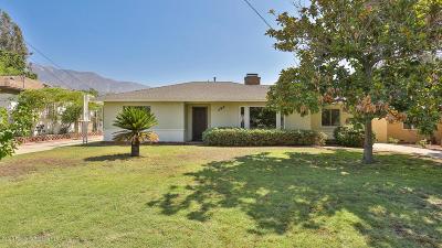 Pasadena Single Family Home For Sale: 794 Eaton Drive