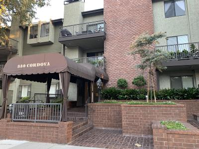 Pasadena Condo/Townhouse For Sale: 330 Cordova Street #134