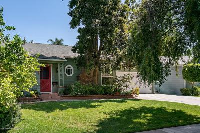 Burbank Single Family Home For Sale: 340 West Elm Avenue