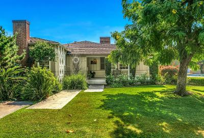 San Gabriel Single Family Home Active Under Contract: 334 North Mission Drive