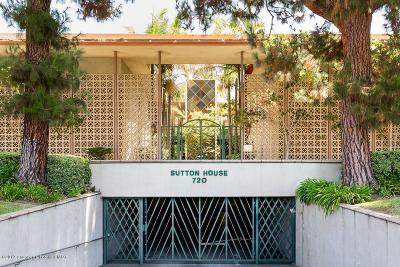 Pasadena Condo/Townhouse For Sale: 720 South Orange Grove Boulevard #3A