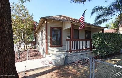 Monrovia Single Family Home For Sale: 447 West Colorado Boulevard