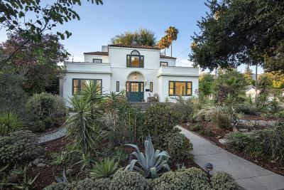 Pasadena Single Family Home For Sale: 1465 Paloma Street