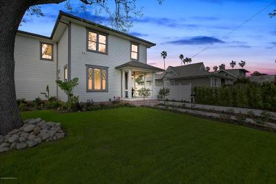 Pasadena Single Family Home For Sale: 639 South Los Robles Avenue