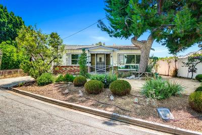 Los Angeles CA Single Family Home For Sale: $729,000