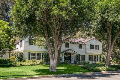 San Marino Single Family Home For Sale: 1150 Mill Lane