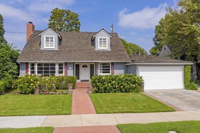San Gabriel Single Family Home For Sale: 462 Segovia Avenue