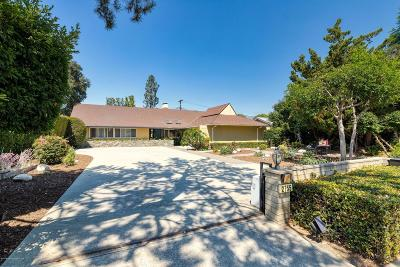 Pasadena Single Family Home For Sale: 2755 East California Boulevard
