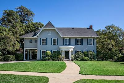Pasadena Single Family Home For Sale: 820 Arden Road