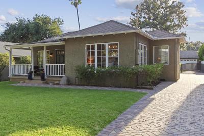 Pasadena Single Family Home Active Under Contract: 1051 North Wilson Avenue