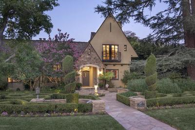 San Marino Single Family Home For Sale: 1440 Saint Albans Road