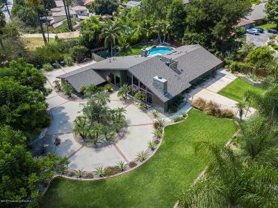 Pasadena Single Family Home Active Under Contract: 1585 Sierra Madre Villa Avenue