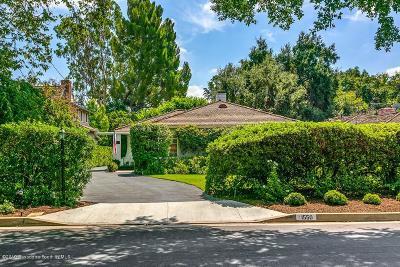 San Marino Single Family Home For Sale: 1550 Wilson Avenue