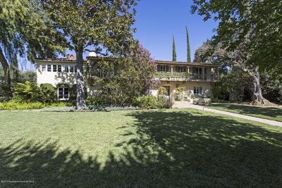 San Marino Single Family Home For Sale: 1130 Virginia Road