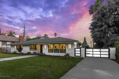 Altadena Single Family Home For Sale: 2010 Mendocino Lane