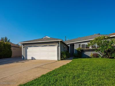 San Gabriel Single Family Home For Sale: 8515 Roanoake Road