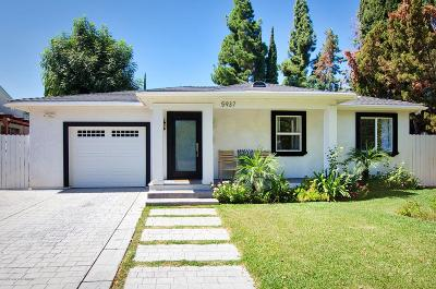 Encino Single Family Home For Sale: 5937 Shoshone Avenue