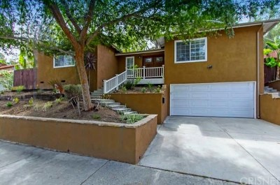 Woodland Hills Single Family Home Sold: 5167 San Feliciano Drive