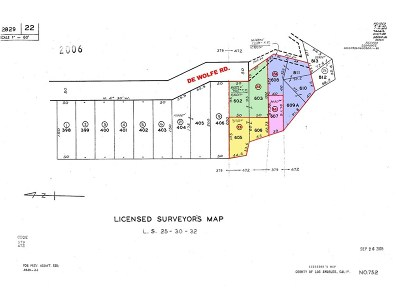 Newhall Residential Lots & Land For Sale: De Wolf Road