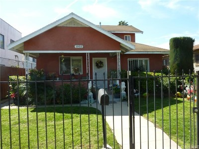 Single Family Home Closed: 1052 West 87th Street