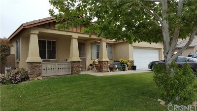 Palmdale CA Single Family Home Sold: $305,000