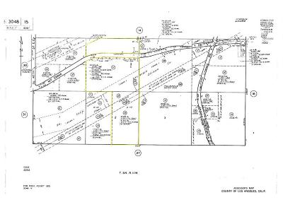 Palmdale Residential Lots & Land For Sale: 50 Street East And Mt. Emma/Cheseboro Road