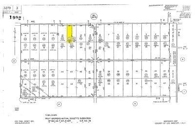 Lancaster Residential Lots & Land For Sale: 236 West Street West Ave. D