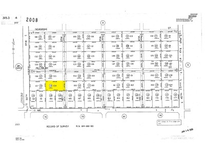 Lancaster Residential Lots & Land For Sale: 49 Street West And Pillsbury Street