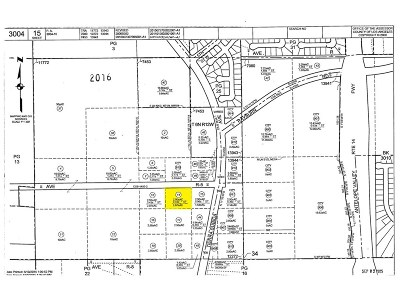 Palmdale Residential Lots & Land For Sale: 2 At Ave. R5 (City Ranch Rd.) And Tierra Subida Avenue