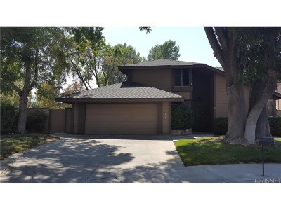 Valencia CA Single Family Home Closed: $567,000