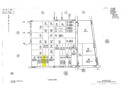 Lancaster Residential Lots & Land For Sale: 13 Street Wast And Ave. F