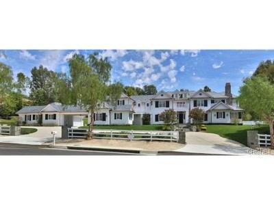 Hidden Hills Single Family Home For Sale: 25200 Jim Bridger Road