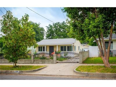 Pasadena Single Family Home For Sale: 1721 Belmont Avenue