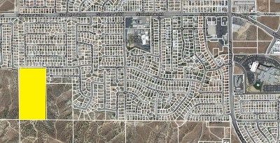 Palmdale Residential Lots & Land For Sale: Vac/Cor 20th Stw/Date Palm Drive