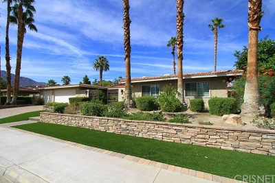 Palm Springs Single Family Home For Sale: 3220 Cambridge Court North
