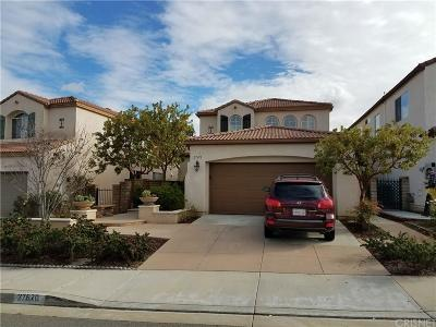 Castaic CA Single Family Home Closed: $510,000
