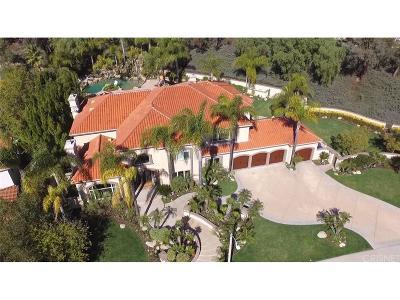Calabasas Single Family Home For Sale: 5745 Newcastle Lane