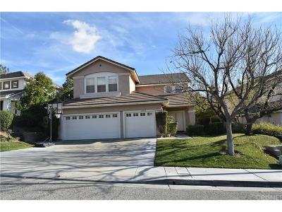 Valencia Single Family Home For Sale: 23544 Clearidge Drive